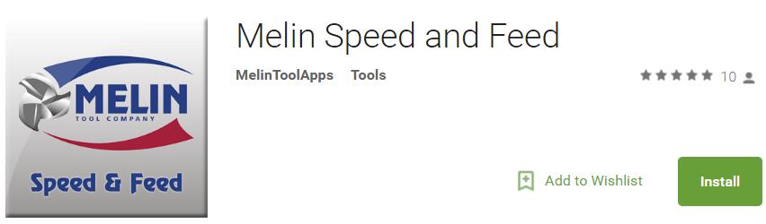 Speed & Feed Recs - Melin Tool Company