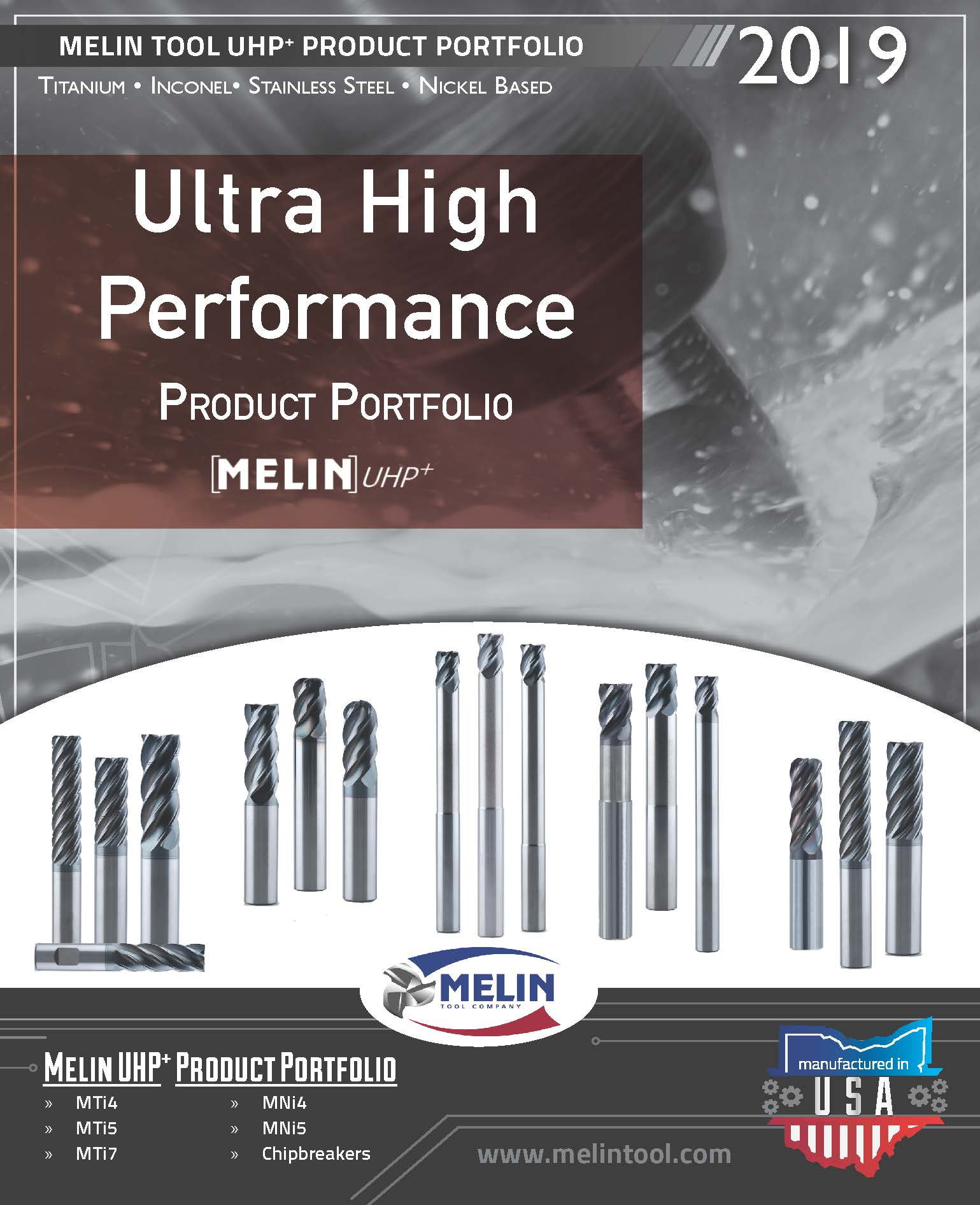 Melin Ultra High Performance Product Portfolio Brochure